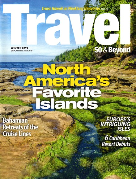 Travel 50 & Beyond Cover - 1/1/2019