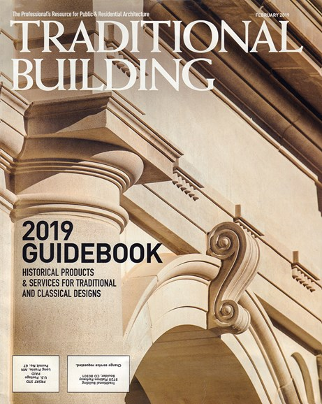 Traditional Building Cover - 2/1/2019