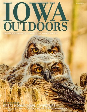 Iowa Outdoors Magazine | 3/2019 Cover