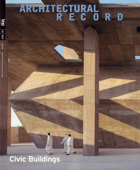 Architectural Record Cover - 3/1/2019