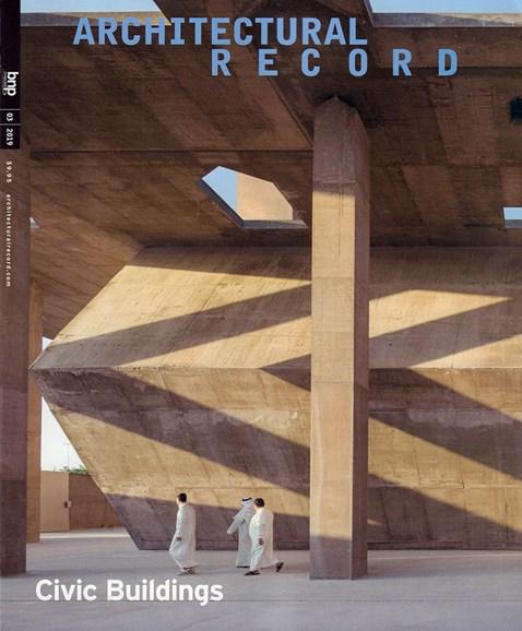 Architectural Record Cover - 3/1/2019