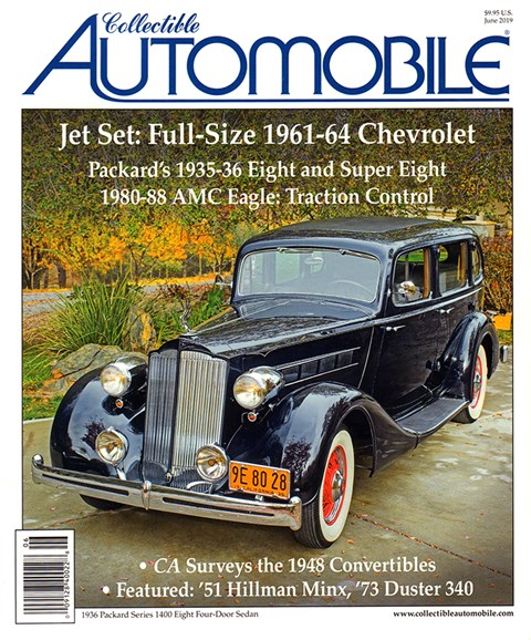 Collectible Automobile Cover - 6/1/2019