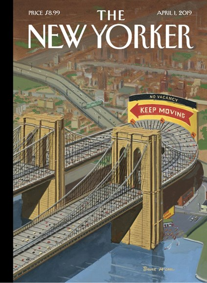 The New Yorker Cover - 4/1/2019