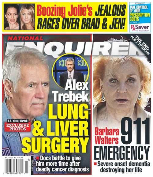 National Enquirer Cover - 4/1/2019