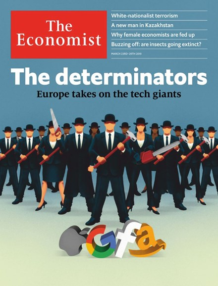 The Economist Cover - 3/23/2019
