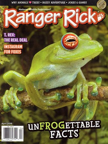 Ranger Rick Cover - 4/1/2019