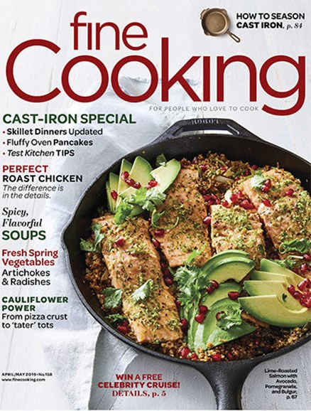Fine Cooking Cover - 4/1/2019