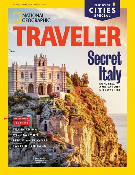 National Geographic Traveler Cover - 4/1/2019