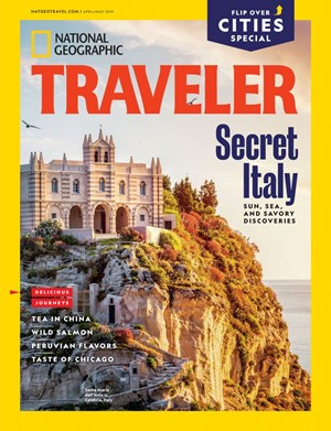National Geographic Traveler Magazine | 4/2019 Cover