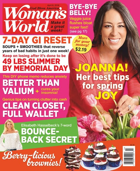 Woman's World Cover - 4/8/2019