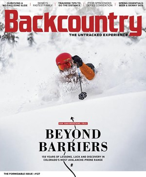 Backcountry Magazine | 4/2019 Cover
