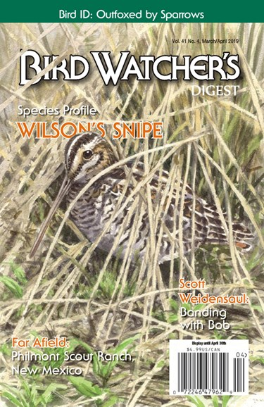 Bird Watcher's Digest Cover - 3/1/2019