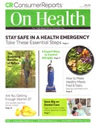 Consumer Reports On Health Magazine 4/1/2019