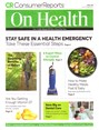 Consumer Reports On Health Magazine | 4/2019 Cover