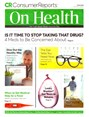 Consumer Reports On Health Magazine | 3/2019 Cover
