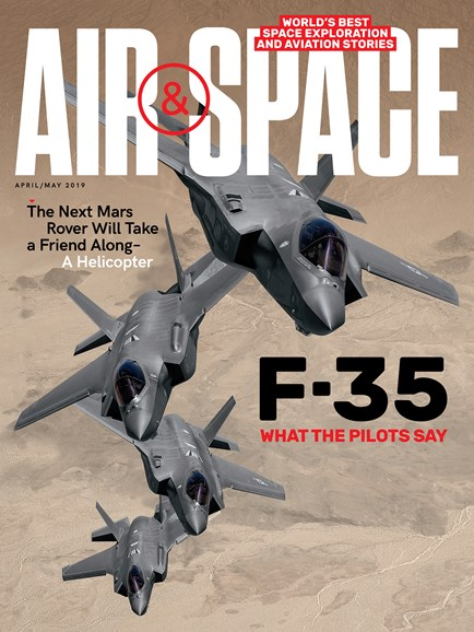 Air & Space Cover - 4/1/2019