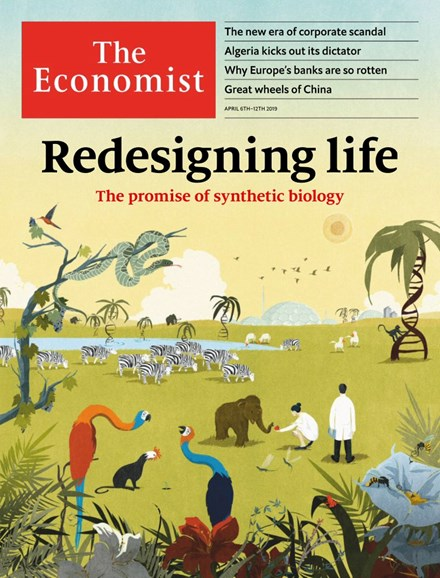 The Economist Cover - 4/6/2019