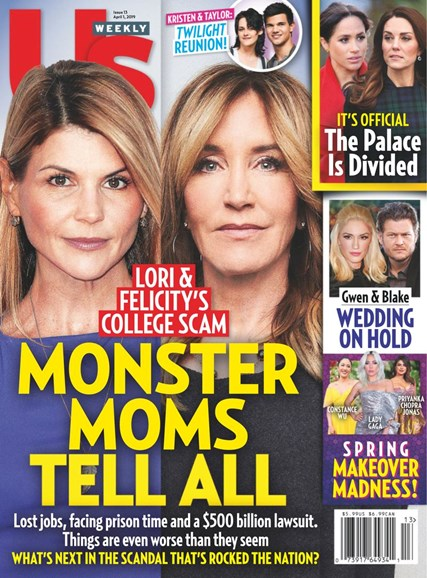 Us Weekly Cover - 4/1/2019