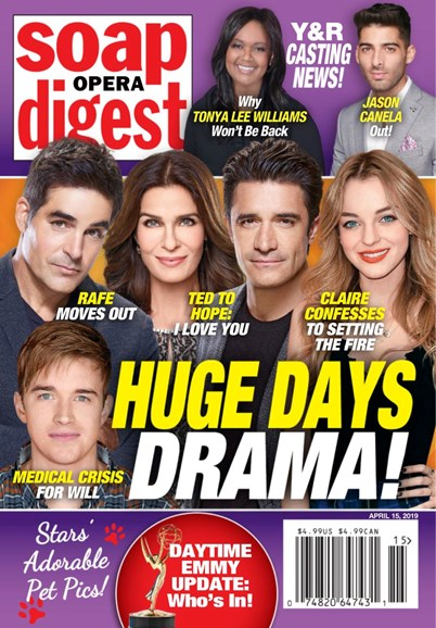 Soap Opera Digest Cover - 4/15/2019