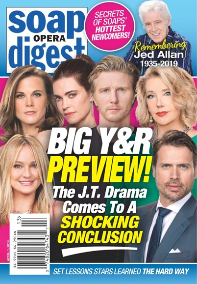 Soap Opera Digest Cover - 4/1/2019