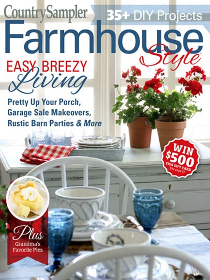 Farmhouse Style Cover - 6/1/2019