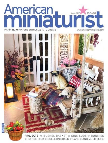 American Miniaturist Cover - 4/1/2019
