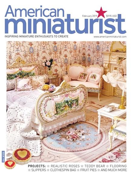 American Miniaturist Cover - 2/1/2019