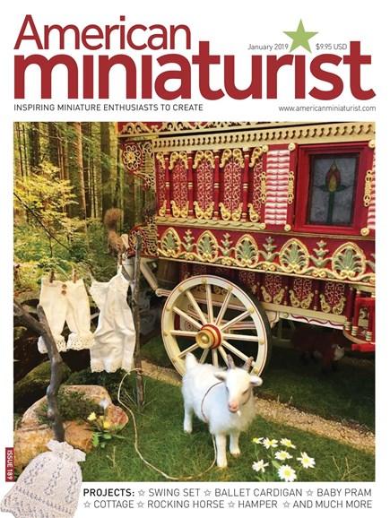 American Miniaturist Cover - 1/1/2019