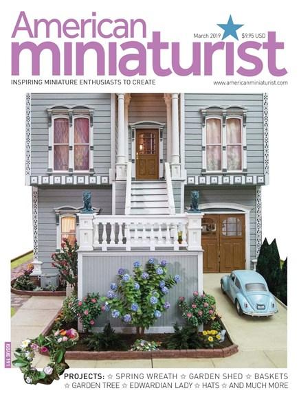 American Miniaturist Cover - 3/1/2019