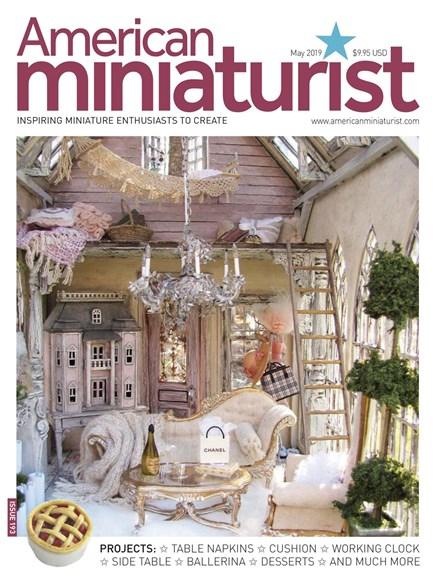 American Miniaturist Cover - 5/1/2019