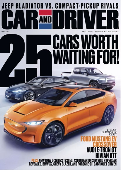 Car And Driver Cover - 5/1/2019