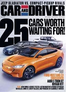 Car And Driver Magazine 5/1/2019