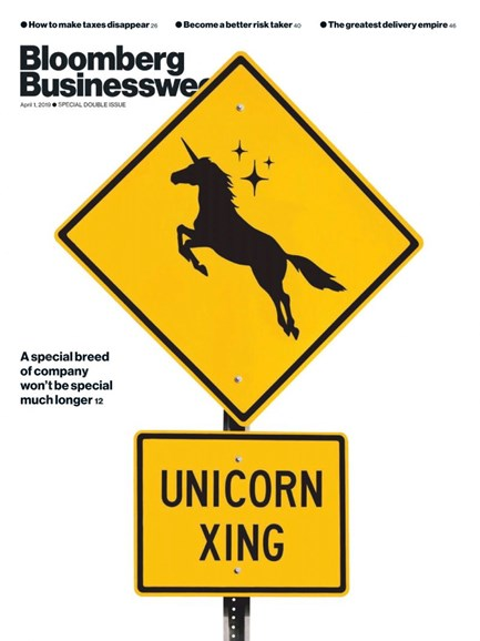Bloomberg Businessweek Cover - 4/1/2019