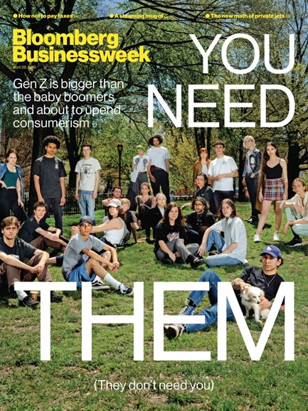 Bloomberg Businessweek Cover - 4/29/2019