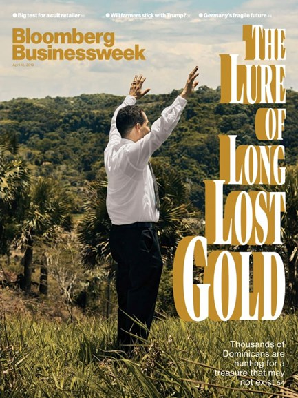 Bloomberg Businessweek Cover - 4/15/2019