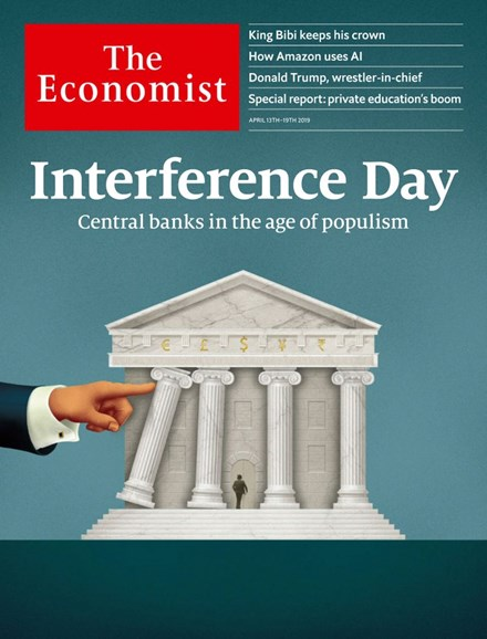 The Economist Cover - 4/13/2019