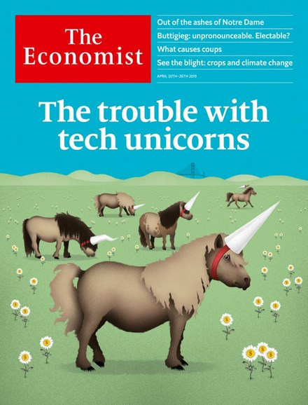 The Economist Cover - 4/20/2019
