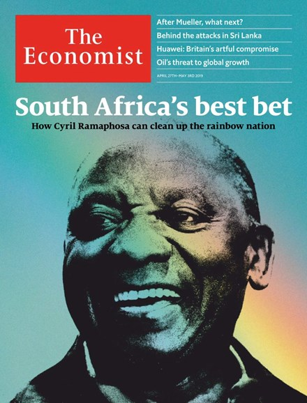The Economist Cover - 4/27/2019