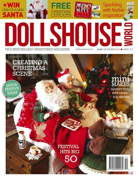 Dolls House World Cover - 12/1/2018