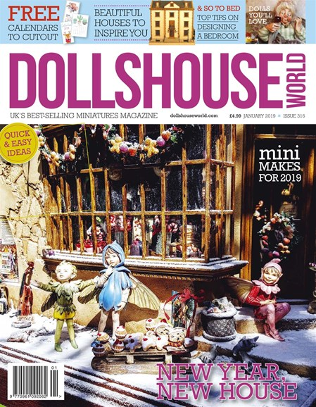 Dolls House World Cover - 1/1/2019