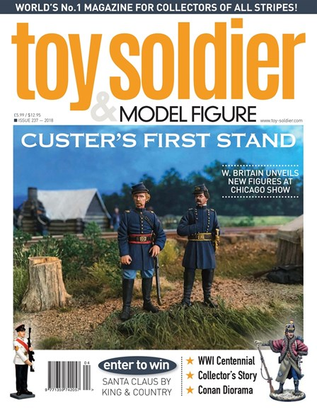 Toy Soldier & Model Figure Cover - 12/1/2018
