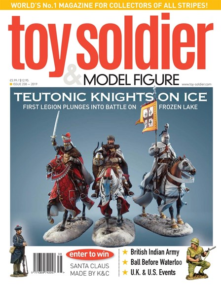 Toy Soldier & Model Figure Cover - 1/1/2019