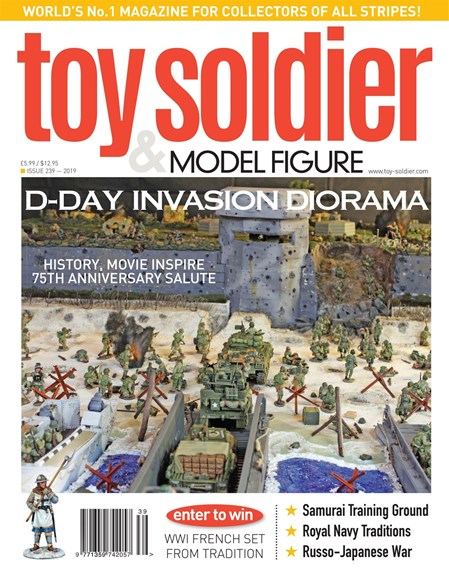 Toy Soldier & Model Figure Cover - 3/1/2019