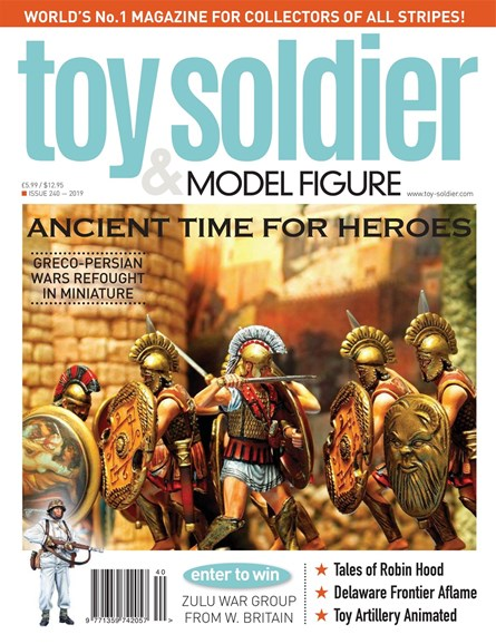 Toy Soldier & Model Figure Cover - 5/1/2019