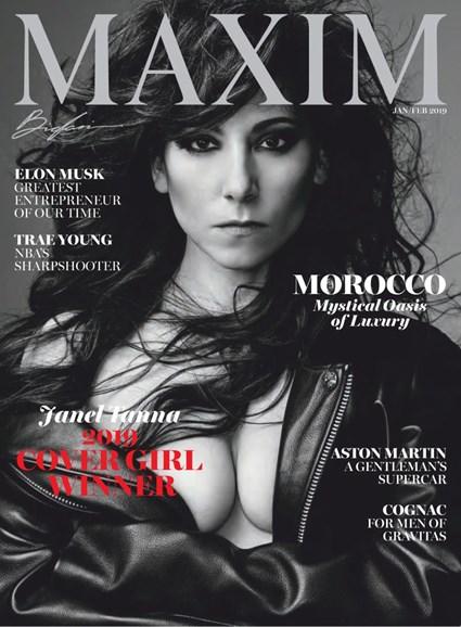 Maxim Cover - 1/1/2019