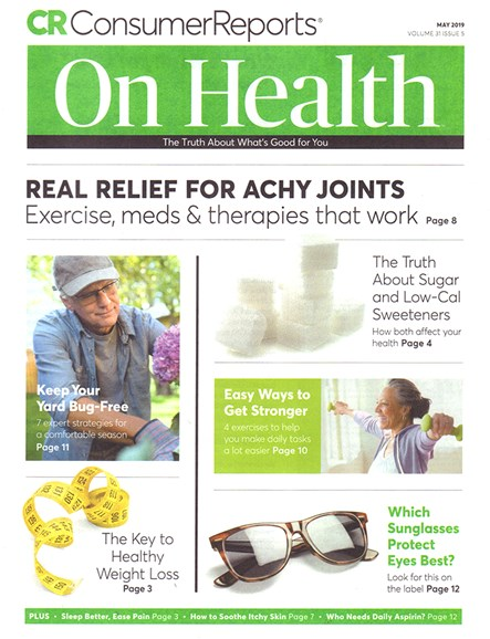 Consumer Reports On Health Cover - 5/1/2019