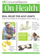 Consumer Reports On Health Magazine 5/1/2019