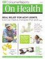 Consumer Reports On Health Magazine | 5/2019 Cover