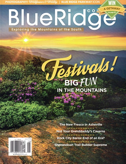 Blue Ridge Country Cover - 6/1/2019