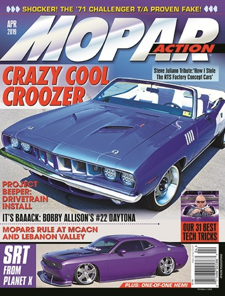 Mopar Action Cover - 4/1/2019